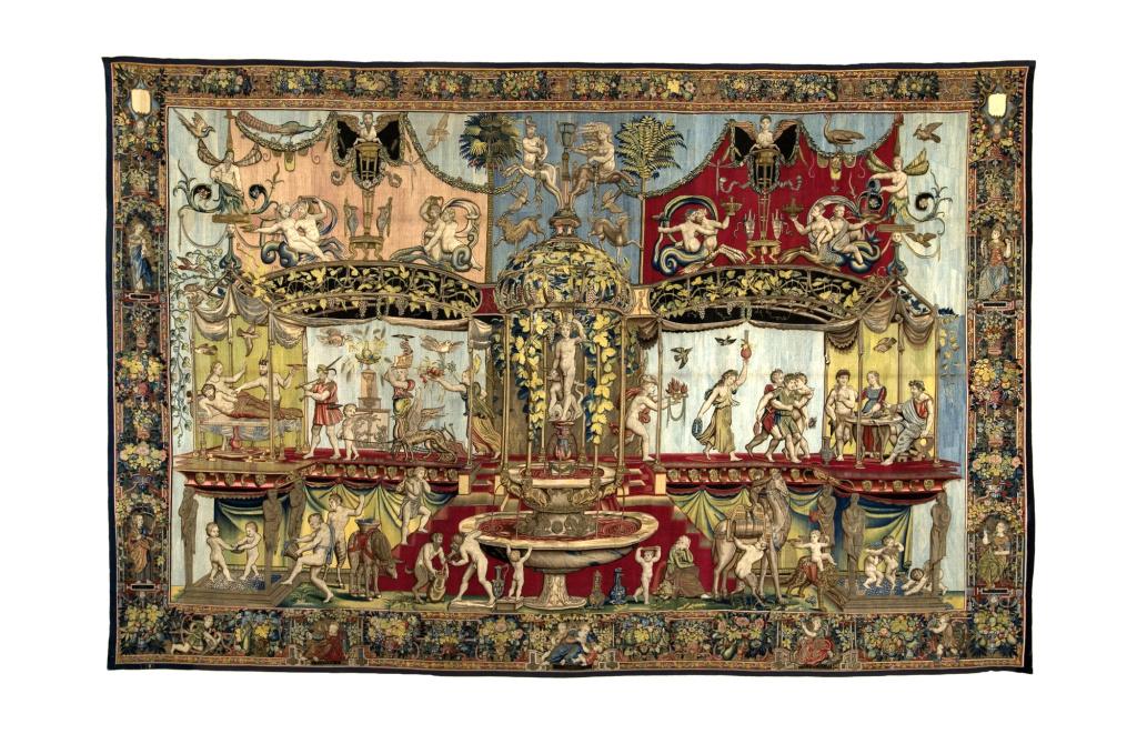Triumph of Bacchus, about 1560. Image © Le Mobilier National.
