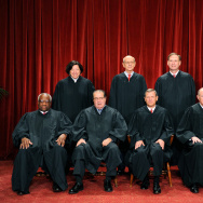 The Justices of the US Supreme Court sit