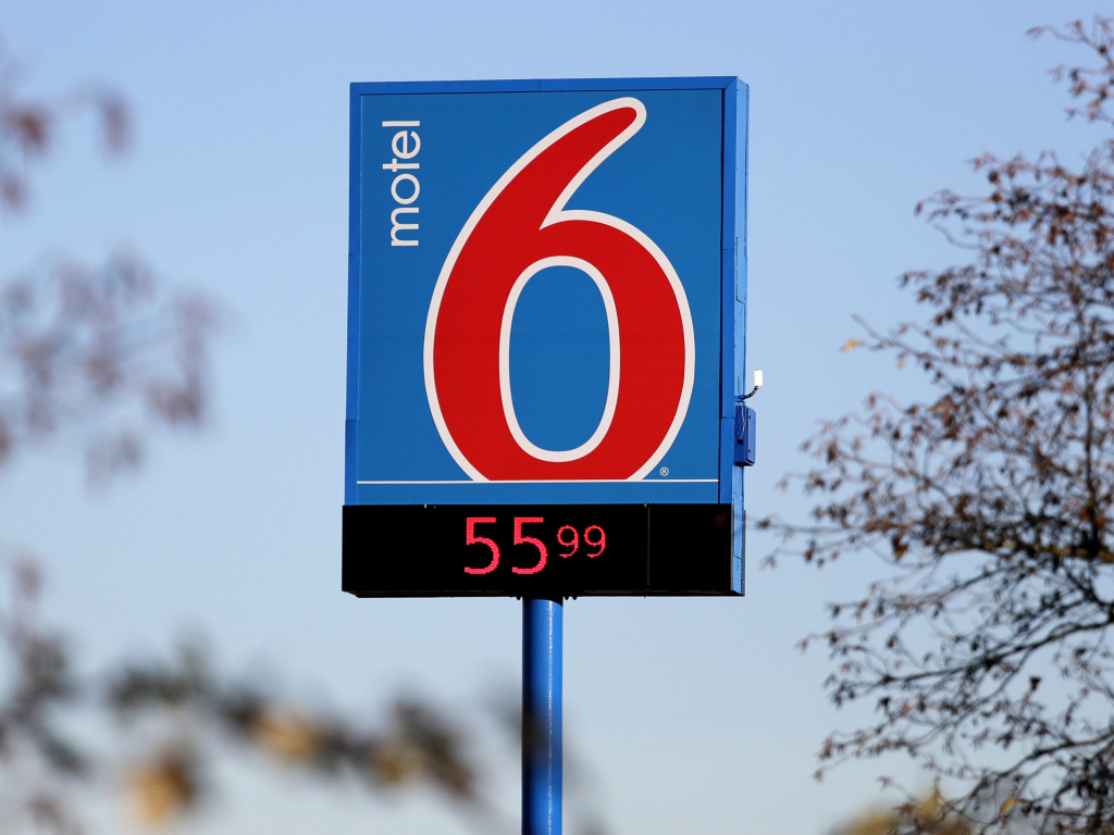 The hotel chain Motel 6 agreed on Thursday to pay $12 million to settle a lawsuit filed by Washington state claiming hotel guest information was improperly provided to immigration officials, according to Attorney General Bob Ferguson. Pictured here, a Motel 6 in Washington state in 2018.