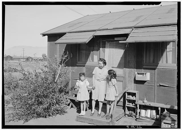 The Manzanar Visitor Center.