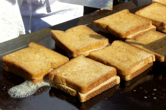 The Grilled Cheese Invitational will take place this weekend at the Rose Bowl.