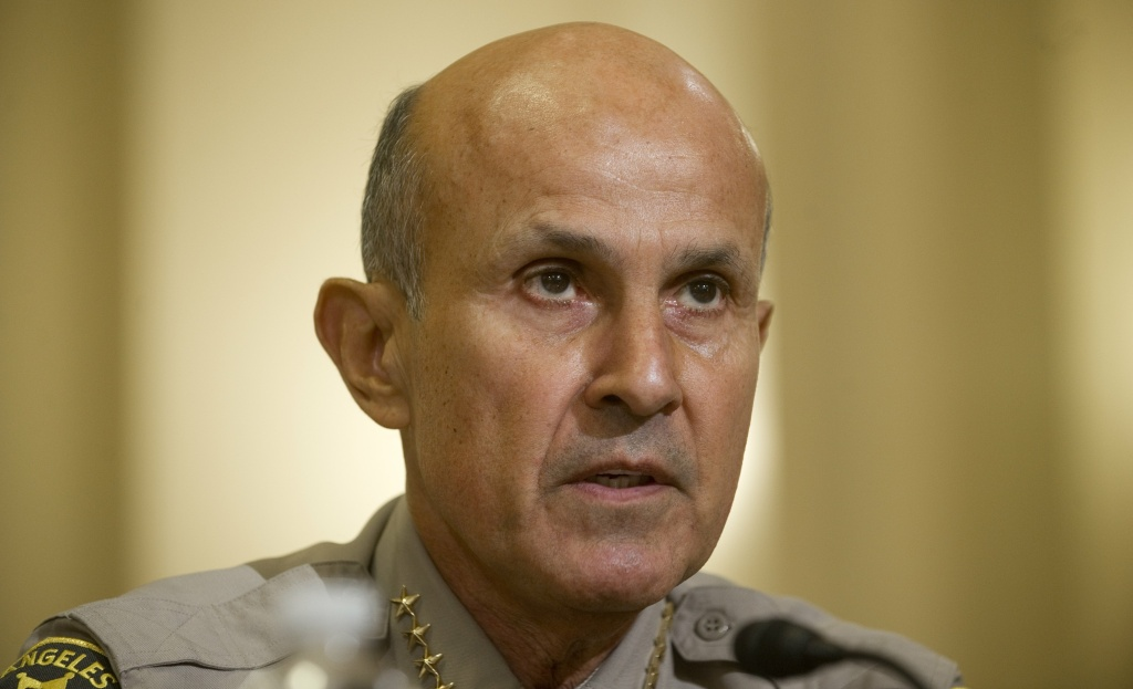 Should Sheriff Lee Baca be financially liable for inmate abuse carried out by his officers?