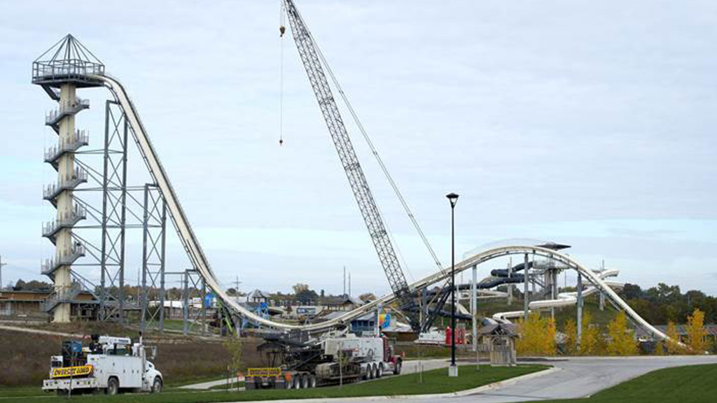 A judge has dismissed all remaining criminal charges over the death of 10-year-old Caleb Schwab, who was killed while riding the 17-story Verrückt waterslide at the Schlitterbahn Waterpark in Kansas City, Kan. The process of tearing down the slide began last fall.
