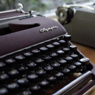 "Still from ""California Typewriter"" documentary trailer."