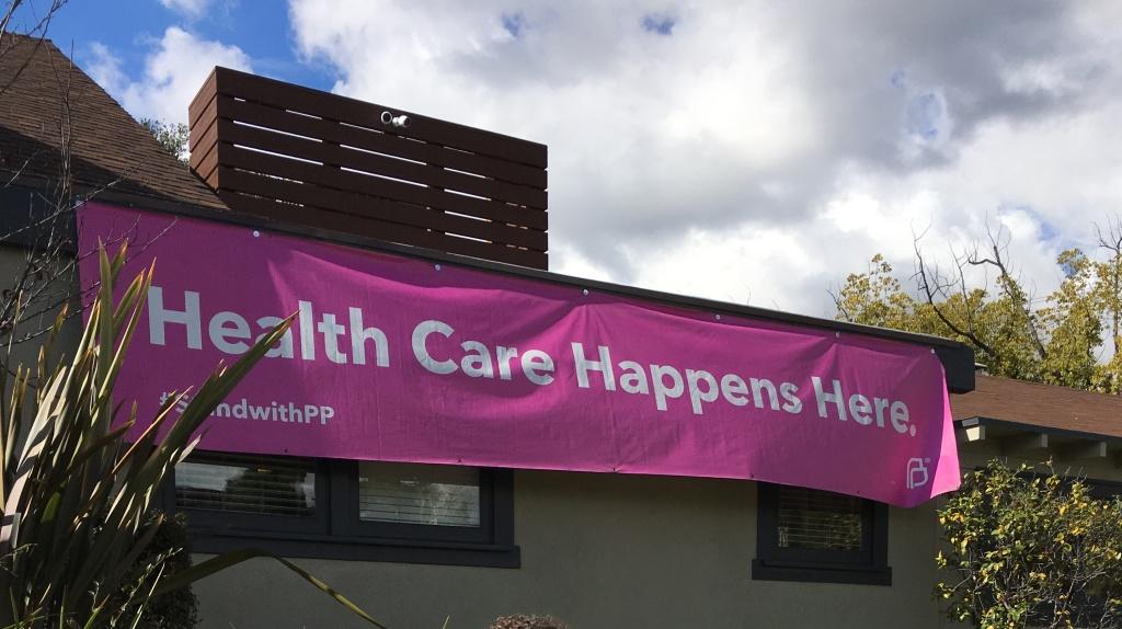 Planned Parenthood's Pasadena clinic.