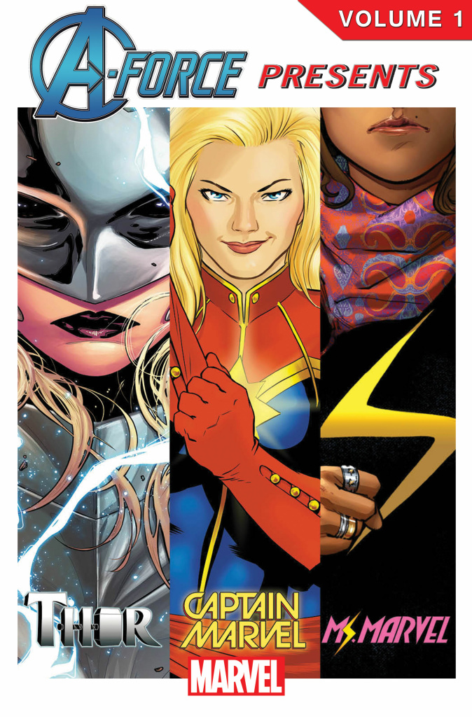 A cover showing several of Marvel's more diverse characters.