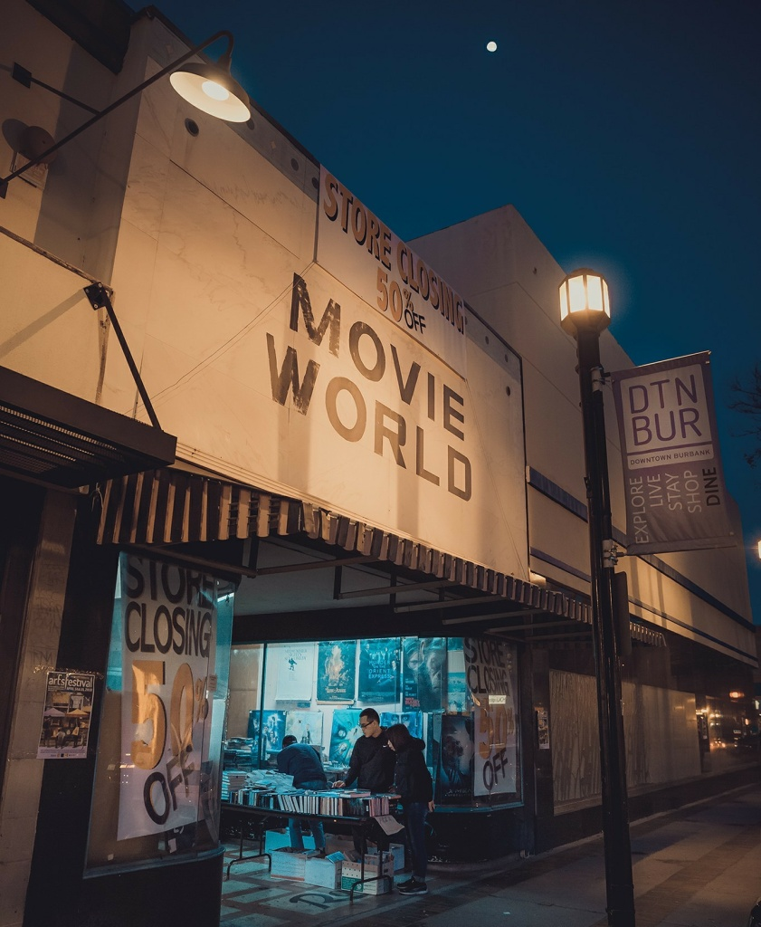 Burbank's Book Castle Movie World is closing its doors for the last time on Monday after 51 years as a local institution.