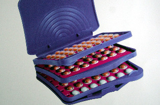 This is a handout photo of a pack of Seasonale birth control pills. Seasonal is an extended cycle oral contraceptive.