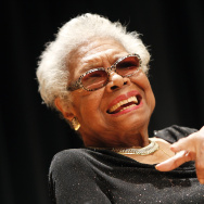 Portrait Unveiling with Maya Angelou