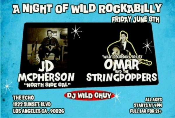 JD Mcpherson Omar and Stringpoppers Flyer