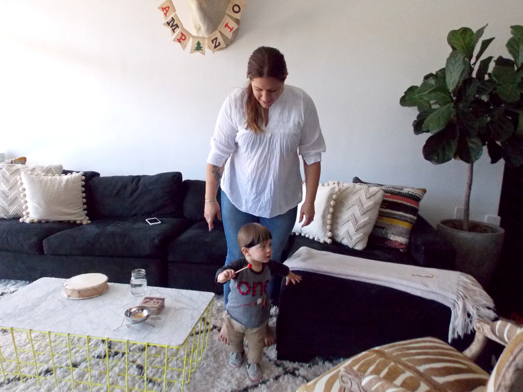 Lara Hogan developed preeclampsia when she was pregnant with her son Zion in 2016. Both are fine now, but she's taking extra precautions to stay healthy.