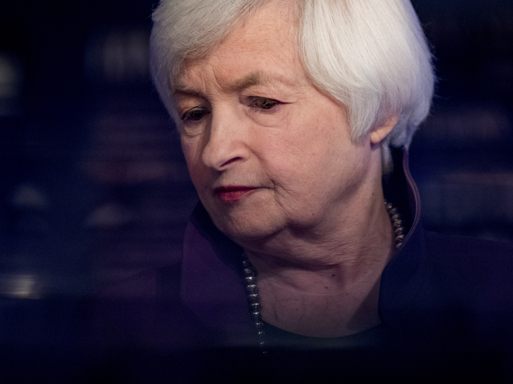 President-elect Joe Biden's pick to lead the Treasury Department, Janet Yellen, here in 2019, is urging greater federal spending to cope with the pandemic and to help boost the struggling economy.
