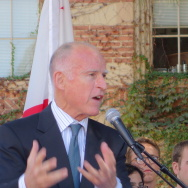 Gov. Jerry Brown at UCLA