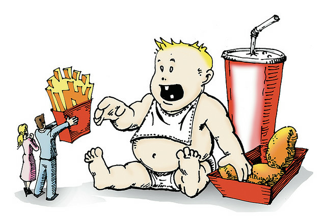 Fast food has long been imagined to be the main culprit for childhood obesity.