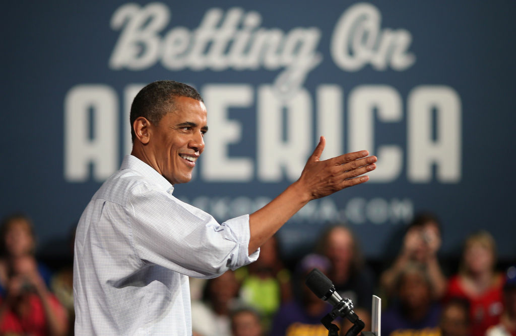 A new poll shows incumbent President Obama with a slight edge over candidate Romney