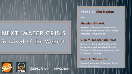 NEXT: Water crisis — Survival of the wettest