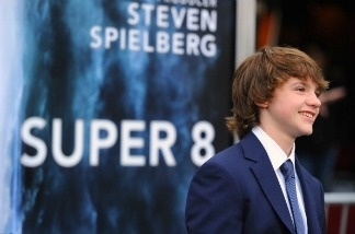 Actor Joel Courtney arrives at the premiere of Paramount Pictures' 'Super 8' at Regency Village Theatre on June 8, 2011 in Westwood, California.