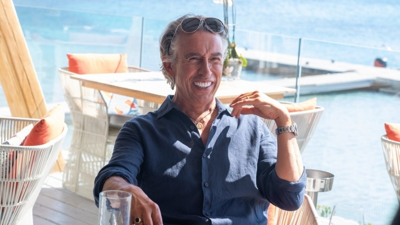 Steve Coogan stars as a self-centered wealthy businessman in