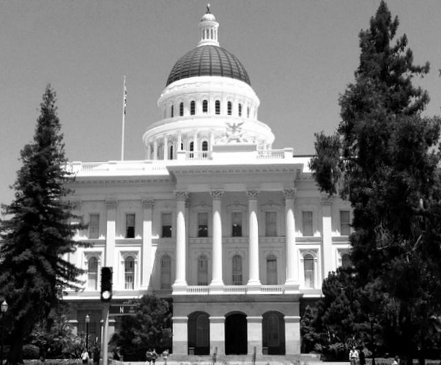 The California State Capitol building, July 2011