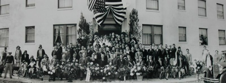The Japanese Hospital of Los Angeles at its opening.
