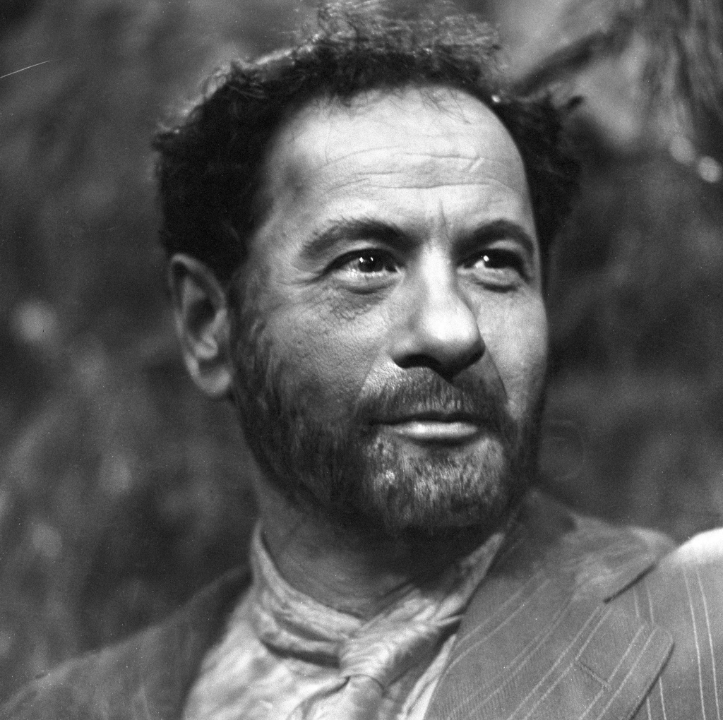 Actor Eli Wallach, seen here in