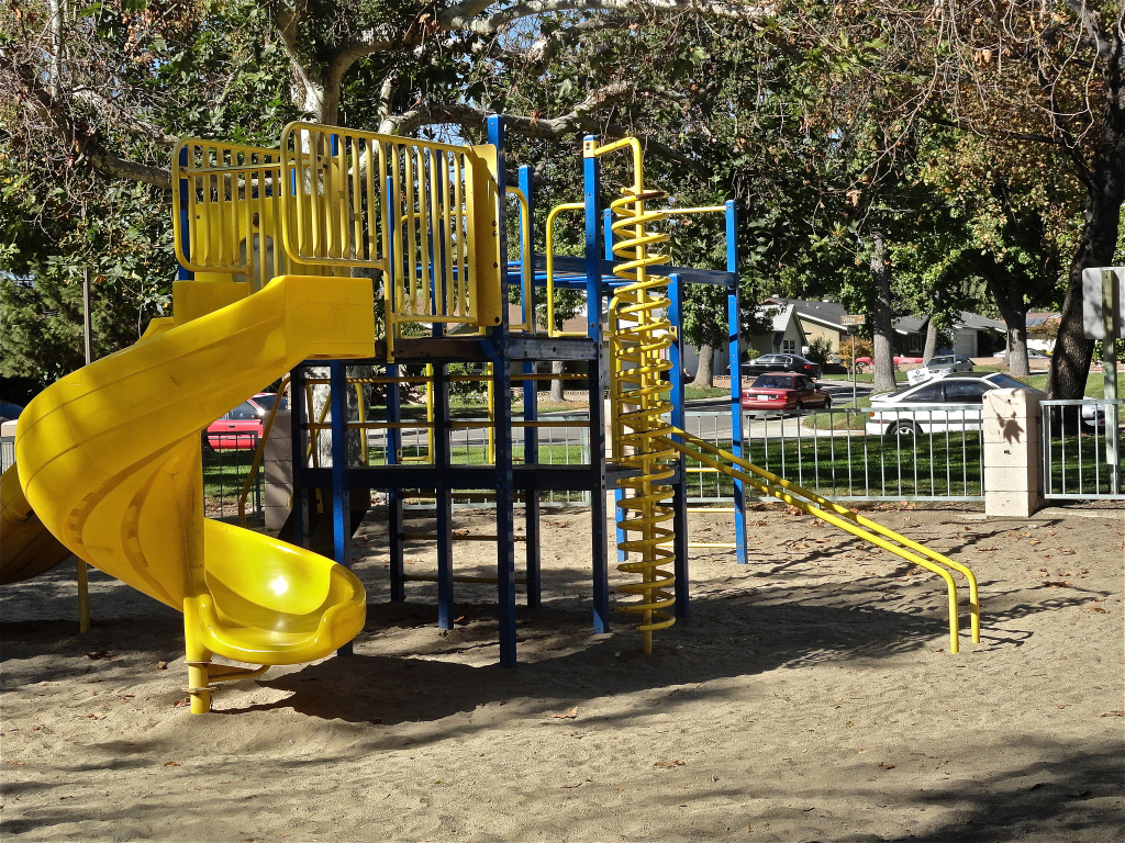 How will Harbor Gateway's construction of a small park, like the one featured in the photo, affect the city?