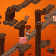 In Paintball Hero, one of the latest video games centered on social and political issues, players rescue pigs, chickens and cows in a slaughterhouse.