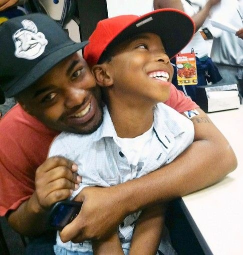 "Fredrick Martin jr. and his son Fredrick ""Tre"" Martin III."
