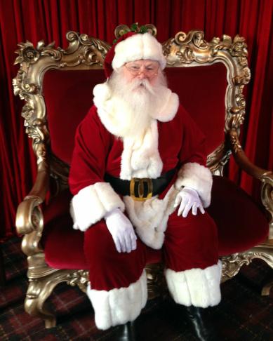 The Grove Santa