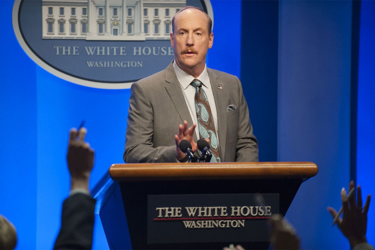 Matt Walsh stars as press secretary Mike McLintock on the HBO series