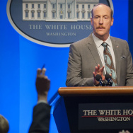 "Matt Walsh stars as press secretary Mike McLintock on the HBO series ""Veep."""