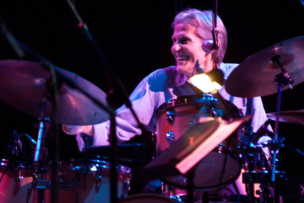 Drummer and singer Levon Helm performs during his concert at the Beacon Theatre on March 8, 2008 in New York City. Helm died on April 19, 2012 at age 71.