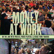"Book cover for Kevin J. Delaney's book ""Money At Work."""