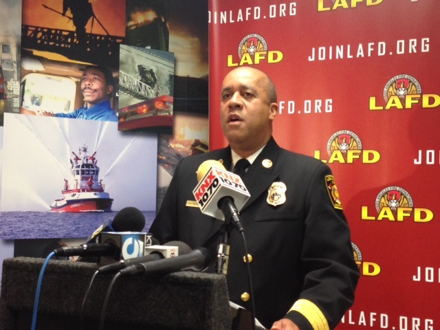 Interim Fire Chief Jim Featherstone says he's committed to reforming the department, from recruitment to response times to accountability.