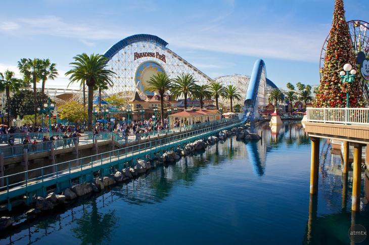 File photo of California Screamin' at Disney California Adventure park.