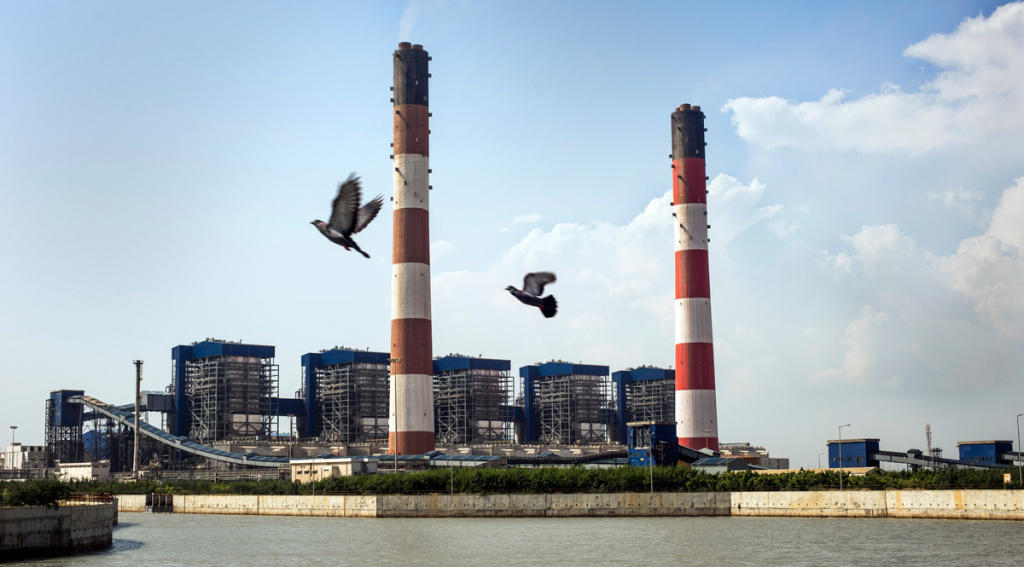 The coal-fired Tata Mundra power plant in western India was funded by a branch of the World Bank. A group of farmers and fishermen are suing, claiming that contamination of local water sources has disrupted their livelihoods.