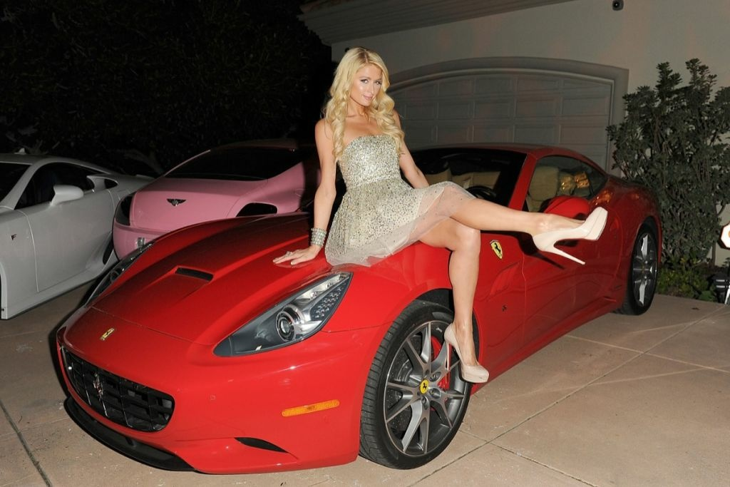 Paris Hilton attends her 'Paris Electric Christmas' Holiday Party at her private residence on Dec. 7, 2011 in Los Angeles.