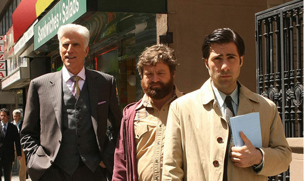 Ted Danson, Zach Galifianakis, and Jason Schwartzman are set to return in a feature length release of HBO's