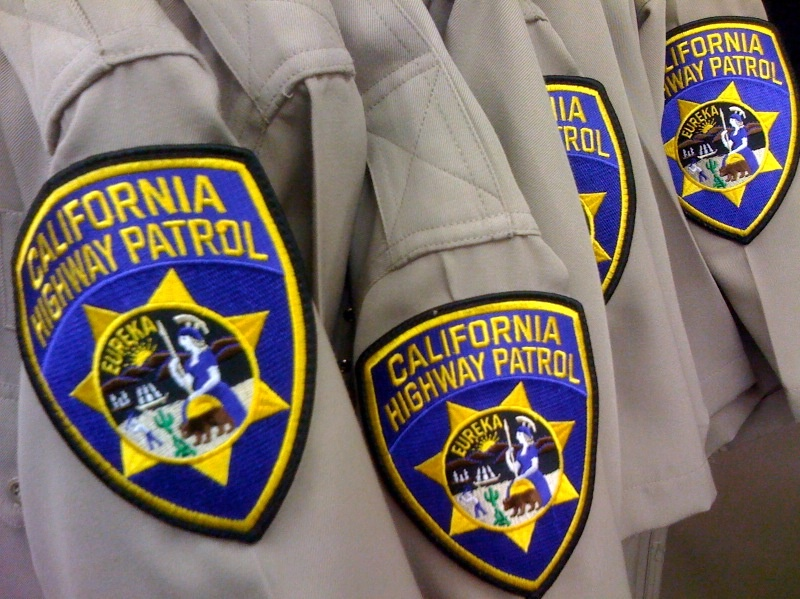 California Highway Patrol uniforms.