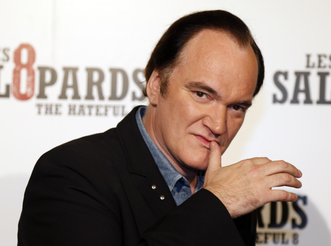 Quentin Tarantino (seen here at the European premiere of