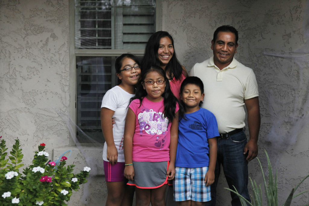 Vanessa lives with her two siblings and their parents, Hector and Marcela, in Paradise Valley, Ariz.