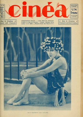 Alla Nazimova as Salomé.