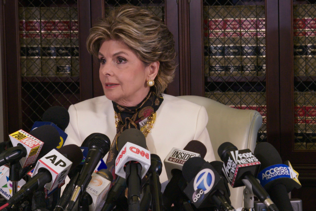 Gloria Allred is seen in Netflix's <em>Seeing Allred. </em>In the documentary, out this week, Allred shares how she became a champion for women's rights.