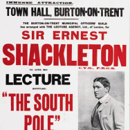Shackleton tour poster