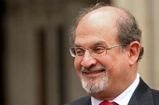 Indian-British novelist Salman Rushdie