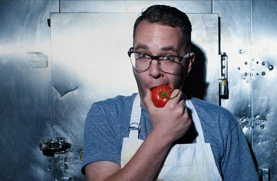 Top Chef winner and LA restaurant owner Ilan Hall, host of new show Knife Fight.