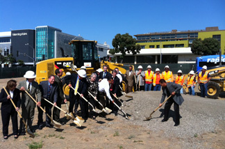 Local elected officials, transportation authorities and community stakeholders attended a groundbreaking Monday in Santa Monica for Phase 2 of the Expo Line project which will extend from Culver City to the Westside.