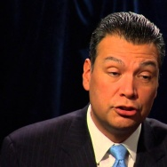 California Secretary of State Alex Padilla talks about the barriers people face to voting and his own family's experience with voting.