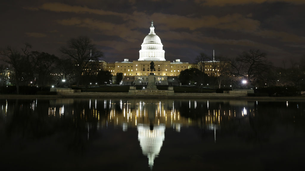 Image of the US Capitol building.