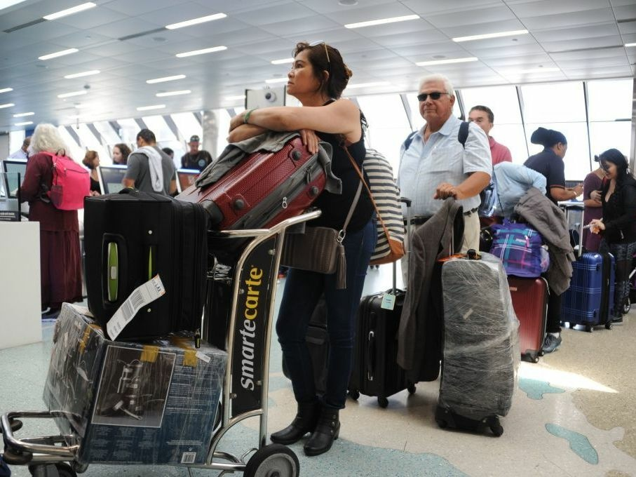 Would-Be Travelers May Be Stranded as Flights Canceled Ahead of Hurricane Irma